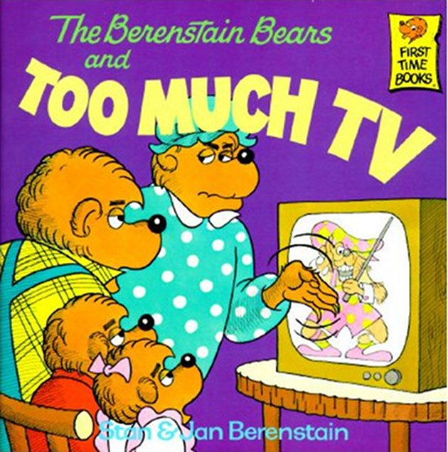 Has my father's multiple readings of the Berenstain Bears taught me nothing?