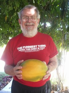 six pound papaya